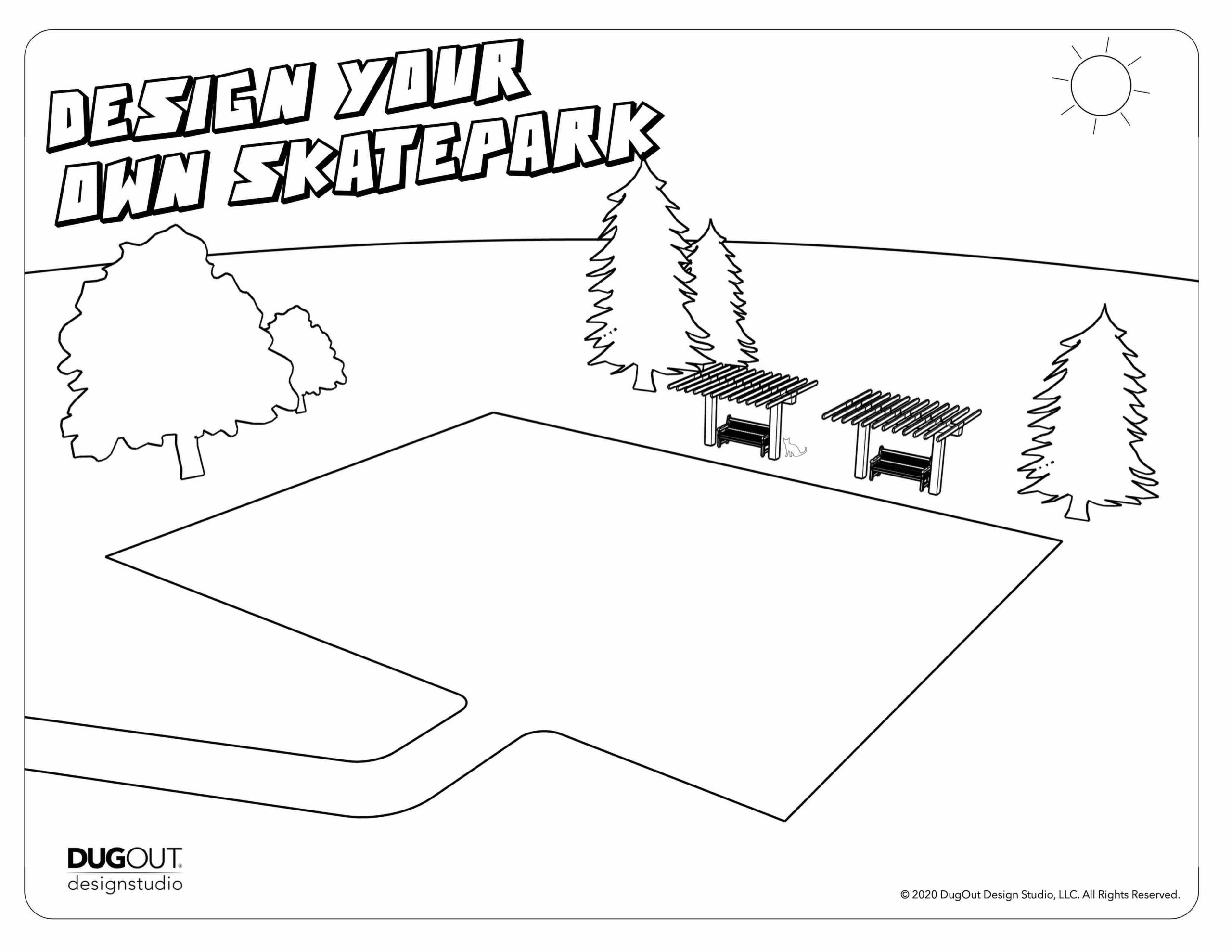 Design Your Own Skatepark page