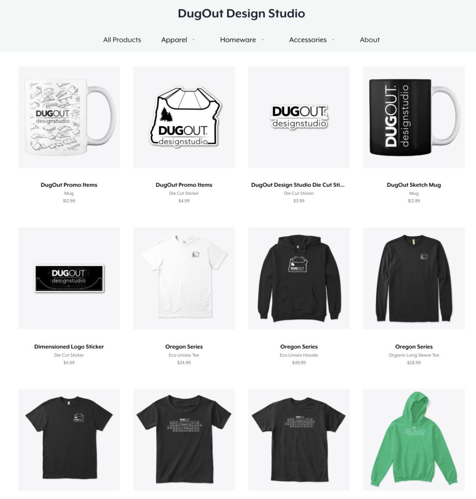 DugOut Design Studio Store